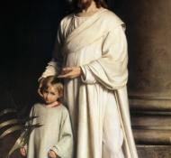 キリストと子供 - ブロック