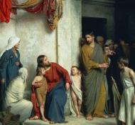 キリストと子供たち - ブロック